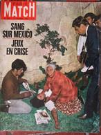 Paris Match N°1014 (12 Oct 1968) Prague - 24 Heures Du Mans - Agnelli - Buffet - Mexico - Cousteau - Nixon - General Issues