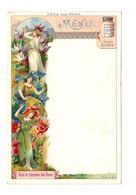 MENU LIEBIG : Dans Le Royaume Des Fleurs (femmes Fleurs) - (N°57) - - Liebig