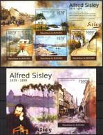 {BUR054} Burundi 2012 Art Paintings A. Sisley Sheet +S/S MNH** - 2010-..: Ungebraucht