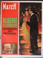 Paris Match N°1007 (24 Août 1968) Algérie/Pieds Noirs - Pr Barnard - MJ Kersaudy -M Darc Dubois - General Issues