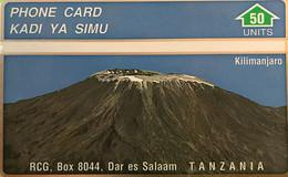 TANZANIE  -   Phonecard   -  L&G -  Kilimanjaro  -  50 Unités - Tanzania