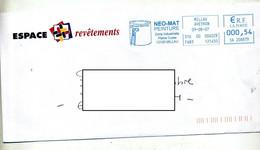 Lettre Flamme Ema Millau Peinture Neo-mat - EMA (Printer Machine)