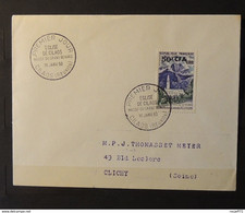 01 - 21  // Réunion - Lettre 1er Jour - N° 352 A Eglise De Cilaos à Destination De Clichy - Storia Postale