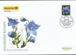 2011  Germay  Deutschland  Mi 2835  FDC  Blumen: Ballonblume (Platycodon Grandiflorus) - FDC: Enveloppes