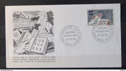 001 - 21 // Réunion - Lettre 1er Jour - N° 359 - Philatec - Storia Postale