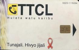 TANZANIE  -   Phonecard   -  TTCL  -  Rafiki  -  1,000 TShs - Tanzania
