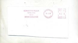 Fragment De Lettre Flamme Ema Sierentz Notaire - EMA (Printer Machine)