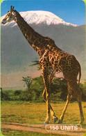 TANZANIE  -   Phonecard   -  Girafe  -  150 Unités - Tanzania