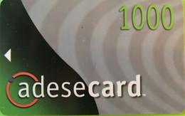 TANZANIE  -   Prepaid  - Adesecard  -   1000 - Tanzania