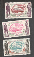 AIR AFRICA....1962:Lot With UpperVolta,Chad,Camerounmnh** - Africa (Varia)