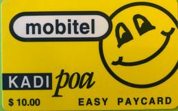 TANZANIE  -   Prepaid  - Mobitel  - Kadi POA  -  $ 10.00 - Tanzania