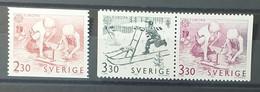 Sweden - 1989 - MNH As Scan - Children's Games - 3 Stamps - (RP) - Ongebruikt