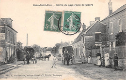 Bezu Saint Eloi - Sortie Du Pays Route De Gisors - Otros Municipios