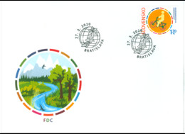 Slowakije / Slovakia - Postfris / MNH - FDC Joint-Issue Met Italië 2020 - Neufs