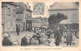 Vernon - Le Marché Aux Fruits - Café Des Lilas -  Place Du Vieux René - Vernon