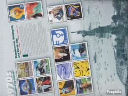 USA Block49 (kompl.Ausg.) Postfrisch 1999 USA Im 20.Jahrhundert (VIII) - Unused Stamps