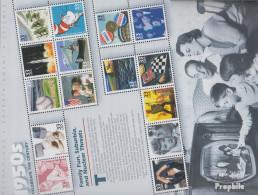 USA Block47 (kompl.Ausg.) Postfrisch 1999 USA Im 20.Jahrhundert (VI) - Unused Stamps