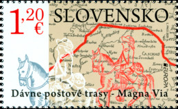 Slowakije / Slovakia - Postfris / MNH - Europa, Oude Postroutes 2020 - Neufs