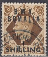 GRAN BRETAGNA - SOMALIA - AMMINISTRAZIONE MILITARE - 1948 - Yvert 18 Usato. - Sonstige