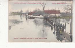 Carte   Hamme    Inondation 1906 - Hamme