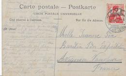 Timbre Sur Carte Postale - Ohne Zuordnung