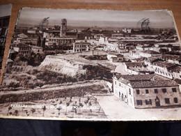 CARTOLINA FERRARA BORGO SAN GIORGIO VISTO DALL'ALTO VIAGGIATA 1952 - Ferrara