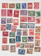 DEUTSCHES REICH, GROSSDEUTSCHES REICH, GENERALGOUVERNEMENT. LOT TIMBRES NEUFS** - Unused Stamps