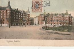 Carte Postale Oblitéré Frasverige  Daté De 1908 - Brieven En Documenten