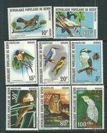 Benin N° 545 / 52 XX  Faune : Oiseaux, La Série Des 8 Valeurs Sans Charnière, TB - Benin – Dahomey (1960-...)