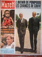 Paris Match N°1002 (20 Juil 1968) Enfants Du Biafra - Pompidou - Jo Schlesser - Burton - General Issues