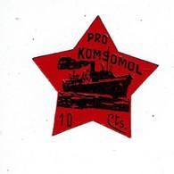 1 Vignette Xx - PRO KOMSOMOL - Vignette Della Guerra Civile