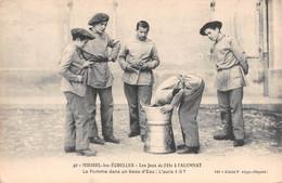 Miribel Les Echelles - Les Jeux à L'Alumnat - La Pomme Dans Un Sceau D'eau  - N°40 - Sonstige Gemeinden