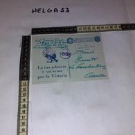 FB2559 REGNO D'ITALIA POSTA MILITARE 113' REGGIMENTO ARTIGLIERIA DI MARCIA TIMBRO COMMISIONE CENSURA 49R - Military Mail (PM)