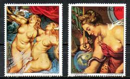 PARAGUAY. PA 803-4 De 1978. Rubens. - Rubens