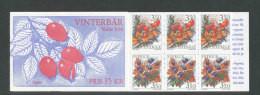 SUEDE 1996 - CARNET  YT C1912 - Facit H467 - Neuf ** MNH - Flore, Baies D'hiver - 1981-..