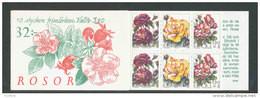SUEDE 1994 - CARNET  YT C1807 - Facit H447 - Neuf ** MNH - Flore, Roses - 1981-..