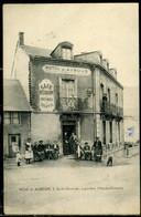 Cpa  Saint Sulpice Laurière (87)  Hôtel Café Restaurant  Auboux,  Beau Plan - Other Municipalities