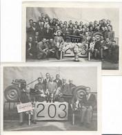PEUGEOT -  Présentation De La 203- Lot De 2 Photos - Fotografie