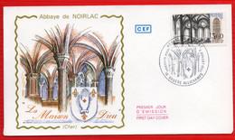 FDC ABBAYE DE NOIRLAC  2 7 1983 - 1970-1979