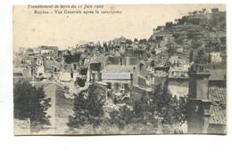 Rognes (13) -Tremblement De Terre Du 11 Juin 1909 - Earthquake 1909, Ruined Houses - Old Postcard - Andere Gemeenten