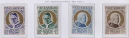 Vaticano - 1951 Pontificato Pio XII - Beatificazione Di Pio X S. Cpl 4v MNH** (rif. 145/46 Cat. Unif) - Nuevos