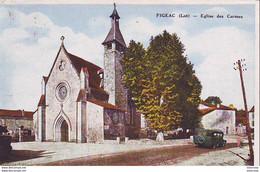 D46  FIGEAC  Eglise Des Carmes  ..... - Figeac