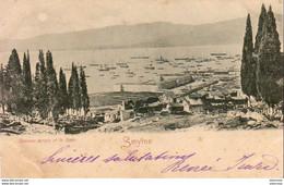 TURQUIE SMYRNE  Caserne Turque Et La Rade - Turkey