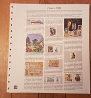 France - Jeu De Feuilles Pour Album Yvert SAFE DUAL - Année 2006  - 19 Pages   - Etat Neuf - Pré-Imprimés