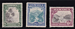 GIAMAICA 1932 JAMAICA   SET SG 111/113 MNH**  VERY FINE SUPERB STAMPS CV £ 140 - Jamaica (...-1961)