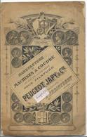 PEUGEOT JAPY- Fascicule Machines à Coudre- Audincourt Doubs - Andere