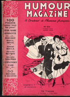 Revue HUMOUR MAGAZINE  N°23..1952 Avec à L'intérieur 1 Dessin De POULBOT(M1702) - Humour