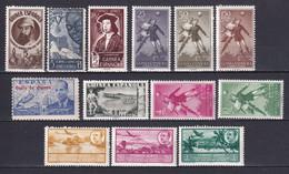 GUINEE ESPAGNOLE - POSTE AERIENNE 1942/1955 ** MNH - COTE = 100 EUR. - Guinea Spagnola