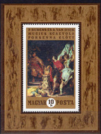 Gemälde Rubens 1970 Ungarn Block 74 ** 4€ Niederlande-Maler Bloque Hoja Painting S/s Bloc Art Sheet Magyar/Hungaria - Rubens