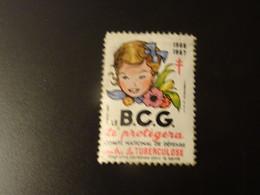 FRANCE  Tuberculose  1966-67 Le  B.C.G. - Tegen Tuberculose